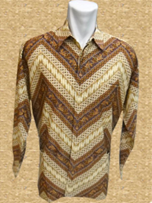baju batik motif bunga mawar bergaris batik indonesia modern motif