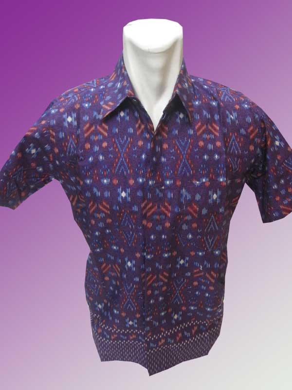 Baju Batik Batik Katun Songket Modifikasi Batik Indonesia