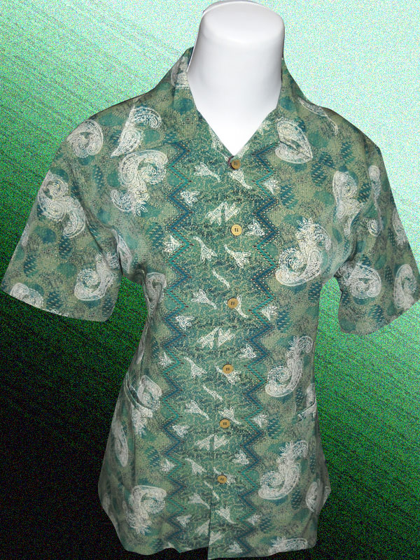 Baju Batik Motif Mega Mendung Dominan Knehijaua Batik