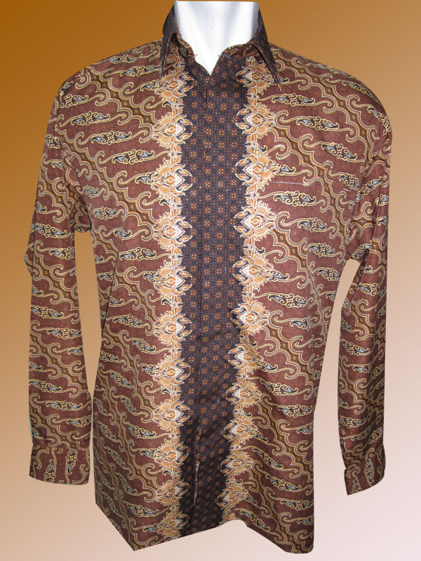Baju Batik Motif Parang Traditional Yang Sederhana Warna