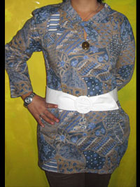 'Batik motif style abstrak modifikasi'