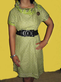 'Hijau pandan , Cutting Fashion - Simple and Elegant (Green P)'